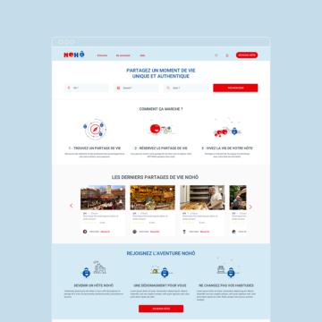 lepressing agence digitale paris pour Nohô