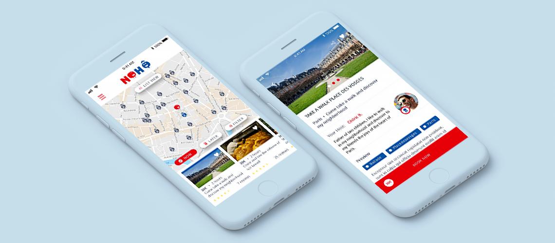 App iOS et Android pour une start-up